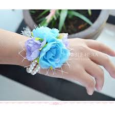 Prom Wrist Corsage 12piece Lot Wedding Decoration Prom Wrist Corsage With
