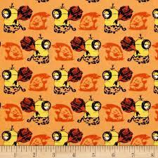 sew scary happy halloween letters orange discount designer