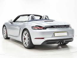 Porsche Boxster S 2016 - used 2016 porsche boxster 981 12 current boxster s pdk for sale
