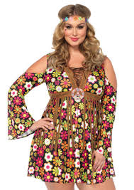 Size 3x Halloween Costumes Leg Avenue 85610x Size Starflower Hippie Halloween Costume