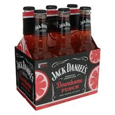jack daniel s country cocktails downhome punch 6 pk bottles shop jack daniel s country cocktails downhome punch 6 pk bottles shop malt beverages ciders and coolers at heb