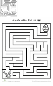 preschool easter worksheets u0026 free printables education com