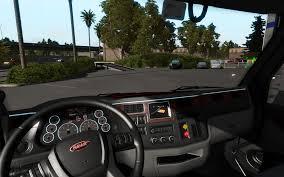 new peterbilt trucks kenworth and peterbilt trucks interior by american truck simulator