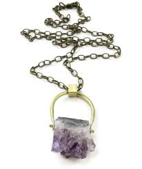 amethyst crystal necklace images Amethyst swing necklace ttereve jpg