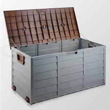 Keter Plastic Furniture Classic Outdoor Storage Bench Keter Rockwood 150