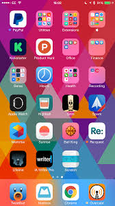 home screen icon design organizing your iphone homescreen techdissected