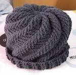 สีเทา | กระเป๋า หมวก ไหมพรม ถัก