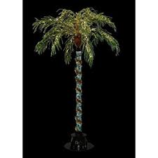 7 foot lighted palm tree 300 lights indoor
