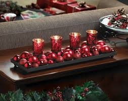 merry candle centerpiece display makes outstanding decorative