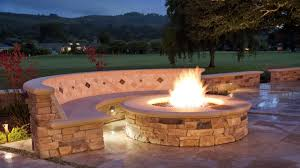 Backyard Fire Pit Design Ideas by 27 Outside Fire Pits Designs Best Outdoor Fire Pit Seating Ideas