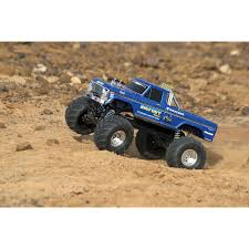 original bigfoot monster truck toy traxxas bigfoot no 1 2wd 1 10 scale rc truck 36034 1 blue rc