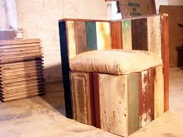 Reclaimed Wood Chairs Buy Made Style Corner Lounge Chair From Reclaimed Wood
