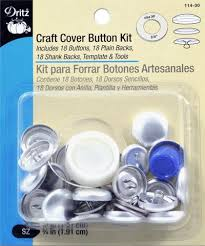 Upholstery Button Making Machine Cover Buttons Fasteners Sewing Dritz Quilting Sewing