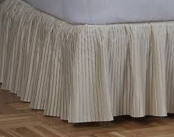 Detachable Bed Skirts Bed Skirt Pleated Poly Satin Detachable Bed Skirts King Bed