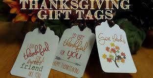 i am thankful thanksgiving gift tags set