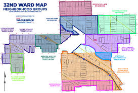 Chicago Parking Zone Map by Neighborhoods Chicago U0027s 32nd Ward Service Website U2013 Alderman