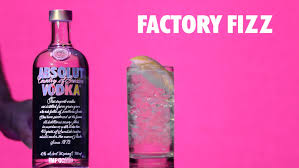 how to make an absolut factory fizz cocktail color it warhol