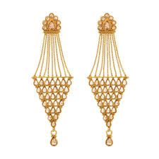 gold earrings with price buy antique gold plated earring 12552 online at