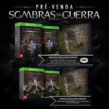 Map Of Mordor The Brazilian Copies Of Shadow Of War Will Come With A Map Of