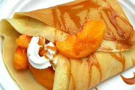 peach crepes recipe light and lovely breakfast fare or dessert