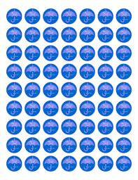 baby shower umbrella favor u0026 decoration label blue label