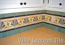Cement Tile Backsplash by Cement Tile Backsplashes Villa Lagoon Tile