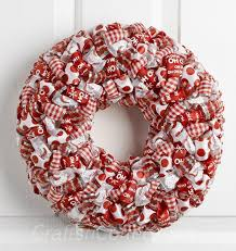 ribbon wreath how to make a ribbon loop christmas wreath crafts n coffee