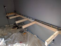 Wall To Wall Desk Diy by Floating Wall Desk Diy Pictures Album On Imgur