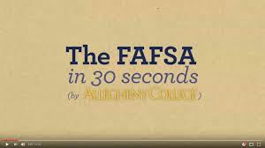 applying for aid financial aid allegheny college meadville pa