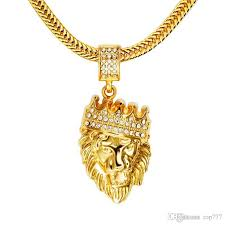 golden fashion necklace images Wholesale 2018 mens 39 hip hop jewelry iced out gold fashion bling jpg