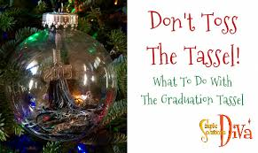 graduation tassel ornament simple idea don t toss the graduation tassel