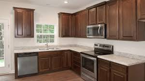 wood stained kitchen cabinets choosing a kitchen style by cabinet type homebuilders