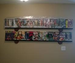 simple cheap modern comic book display shelf 8 steps with pictures