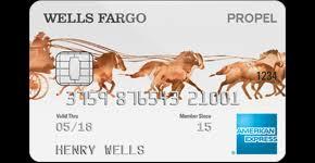 propel american express card u2013 wells fargo