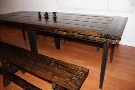 diy rustic farmhouse table ikea hack u2022 vintage blonde