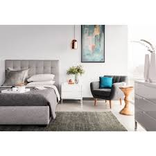 Light Grey Tufted Sofa by Moe U0027s Home Collection Rn 1000 29 Belle Queen Tufted Storage Bed In