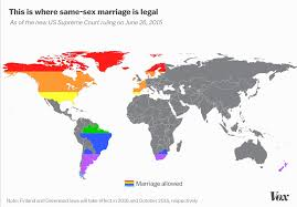 Greenland On World Map by This Map Shows Every Country With Full Marriage Equality U2014 Now