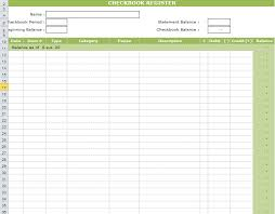checkbook register for excel checkbook register template in excel