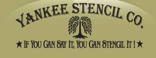 yankee stencil co offers an on line custom stencil designer and