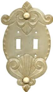 Shabby Chic Light Switch Covers by Clef White Light Switch Plate Fancy Chic Pinterest Light