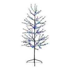 lb international 6 ft pre lit twig slim artificial tree
