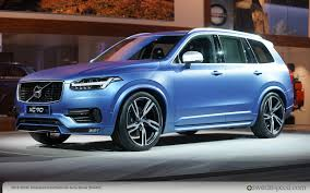 2015 volvo big rig xc90 2015 detroit auto show archive swedespeed
