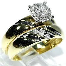 ss wedding ring ebay gold wedding ring sets gold engagement and wedding ring sets