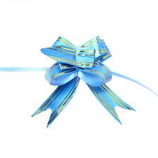 pull bow ribbon 10pcs 1 2 beautiful golden edge pull bow ribbon blue alex nld