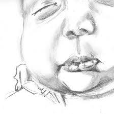 sketch of bean u0027s mouth space monkey twins