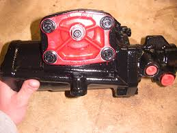 red head steering gear box installed ford truck enthusiasts forums