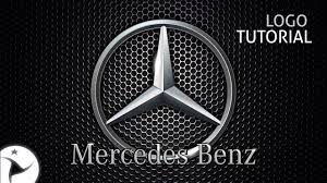 mercedes logo vector logo mercedes benz tutorial corel draw youtube