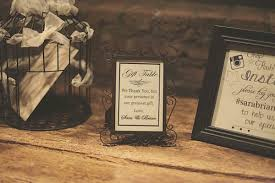 wedding gift table sign best diy wedding decorations