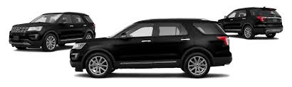 Ford Explorer Black Rims - 2017 ford explorer limited 4dr suv research groovecar