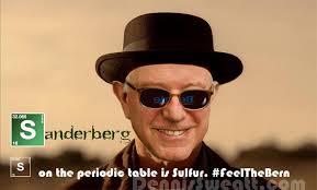 Heisenberg Meme - dennis m sweatt comic book creations and design bernie sanders